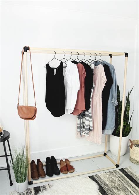 Rack Clothes Diy