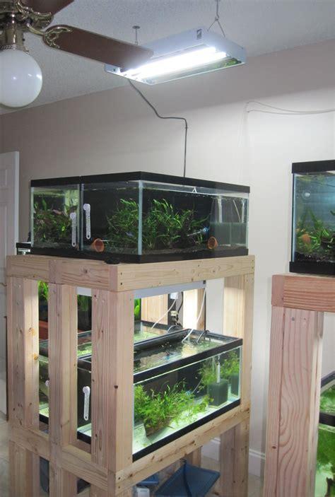 Rack-Light-Stand-Aquarium-Diy