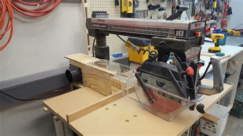 Radial Arm Saw Dust Collection Plans Design