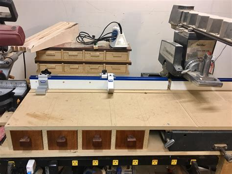 Radial Arm Saw Fence System