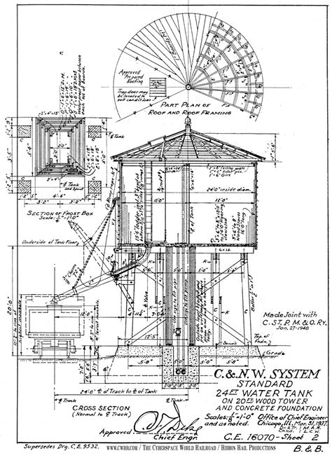 Railroad Water Tower Plans