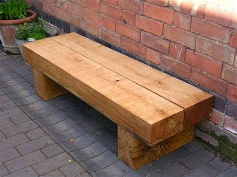 Railway-Sleeper-Bench-Plans