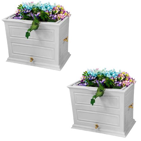 Rain Barrel Planters Ideas
