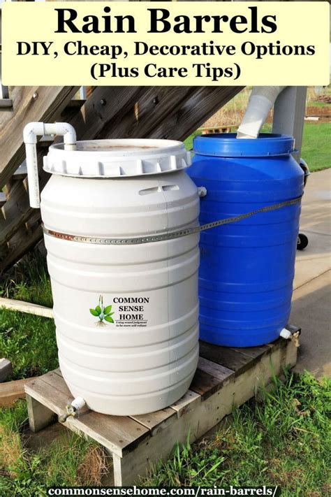 Rain Barrels Diy Tower