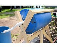 Best Rain barrel composter plans