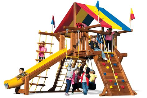 Rainbow Swing Set Plans