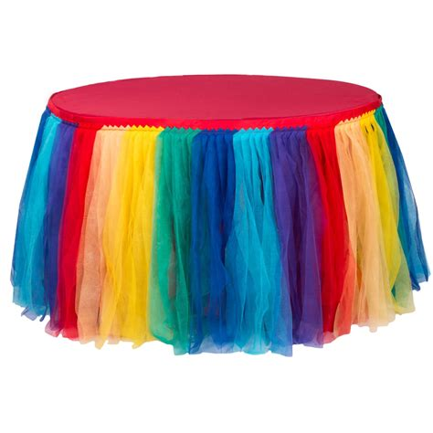Rainbow Table Skirt Diy Network