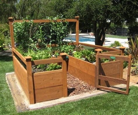 Raise Bed Garden Diy