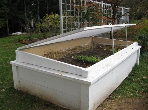 Raised Bed Cold Frame Pictures