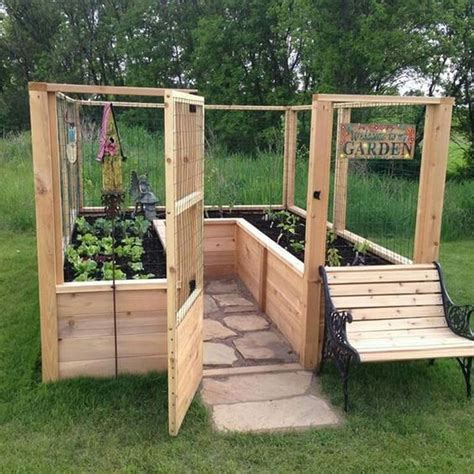 Raised Bed Enclosed Garden Plans
