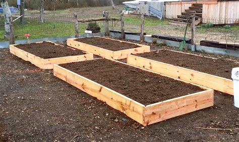 Raised Bed Garden Construction Plans