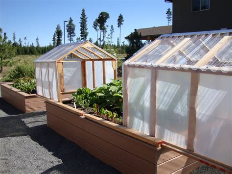 Raised Bed Greenhouse Diy