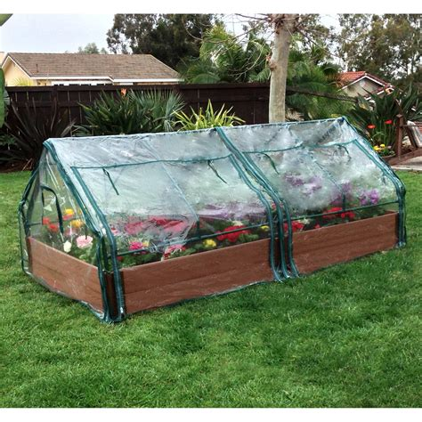 Raised Bed Greenhouse Kits