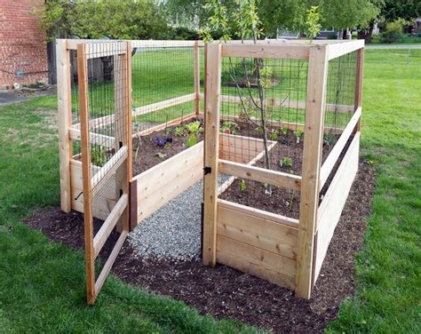 Raised Bed Plans With Gate