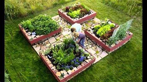 Raised Bed Vegetable Garden Planting Ideas