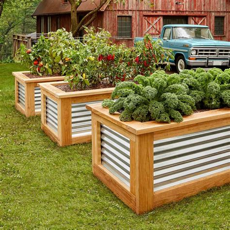 Raised Beds Building