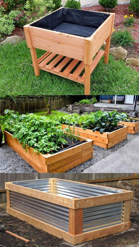 Raised Beds Diy Plans