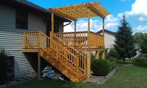 Raised Deck Plans And Designs