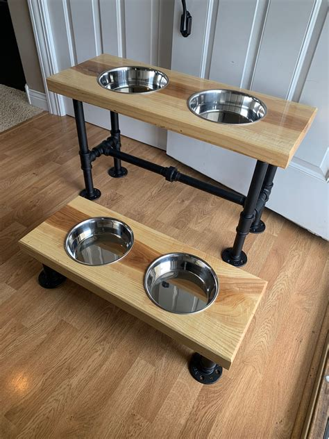 Raised Dog Bowls Diy Fire