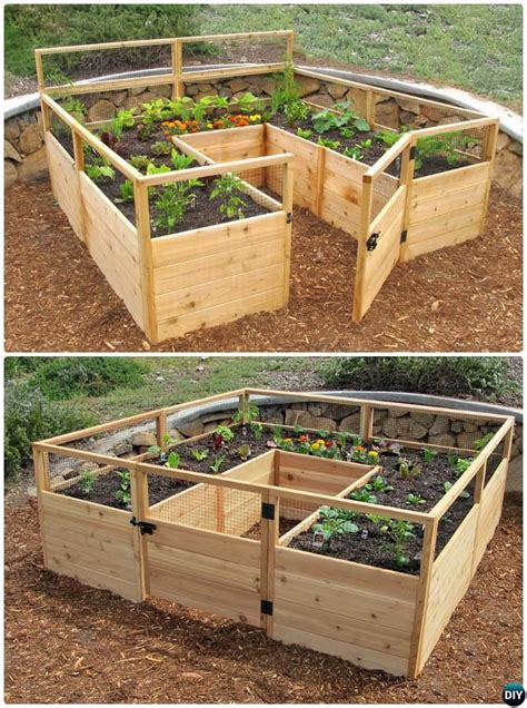 Raised Garden Bed Diy Plans