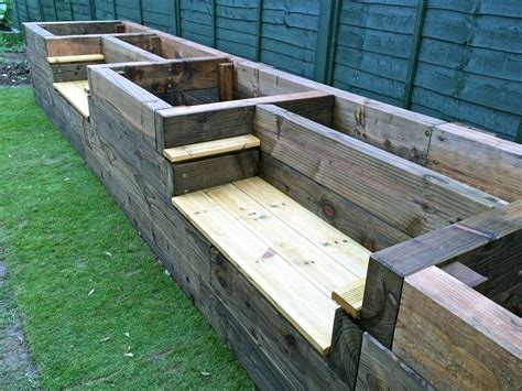 Raised Garden Bed Plans With Seating