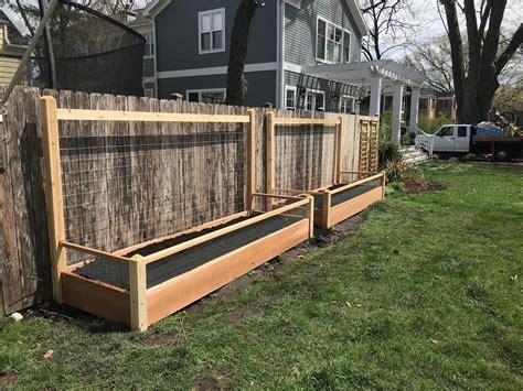 Raised Garden Bed With Trellis Plans