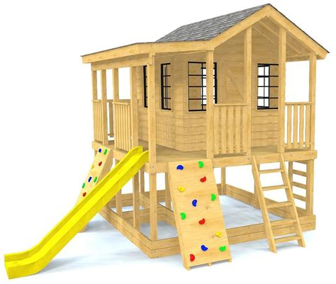 Raised Playhouse Building Plans