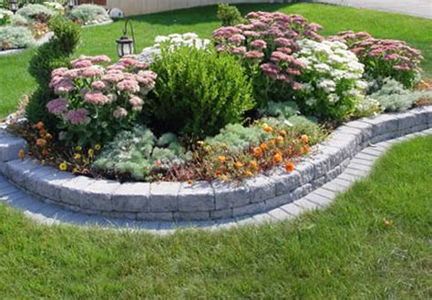 Raised Stone Flower Bed Plans