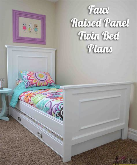 Raised Twin Bed Diy