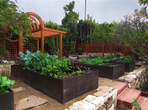 Raised Vegetable Garden Plans