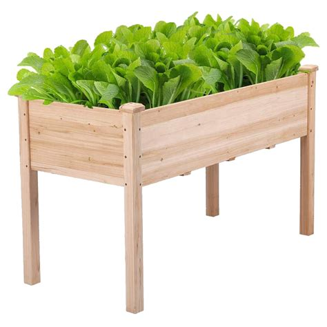 Raised Vegetable Garden Planter Box