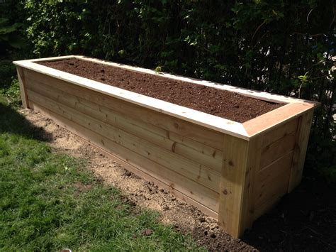 Raised Vegetable Planter Box Plans