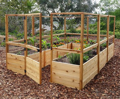 Raised-Garden-Bed-Plans-With-Cover-Deer-Proof