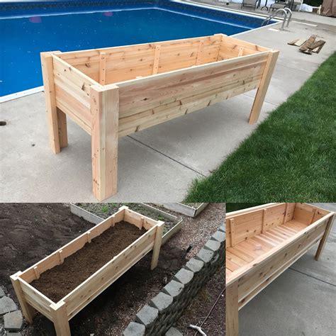 Raised-Garden-Box-With-Legs-Plans