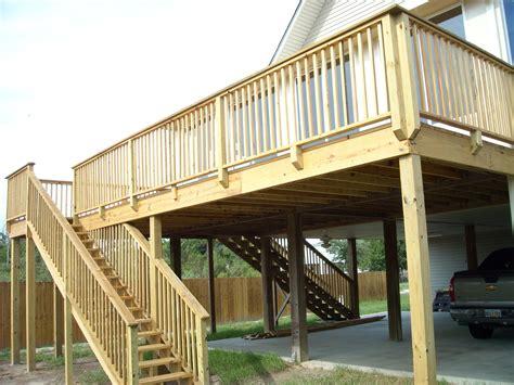 Raised-Wooden-Deck-Plans