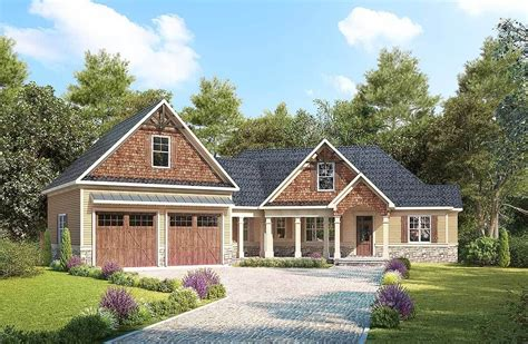 Rambler Floor Plans With Angled Garage Home
