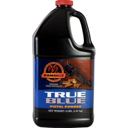 Ramshot True Blue Smokeless Gun Powder 4 Lb.