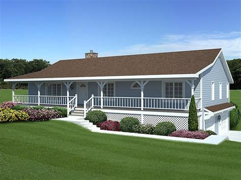 Ranch Floor Plans With Front Porch