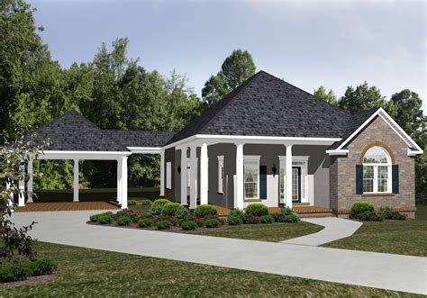 Ranch Floor Plans With Garage And Carport