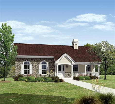 Ranch House Plans With Offset Garage Ton