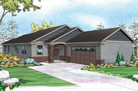Ranch House Plans With Oversized Garage Building