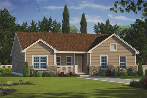 Ranch Style House Plans With No Garage