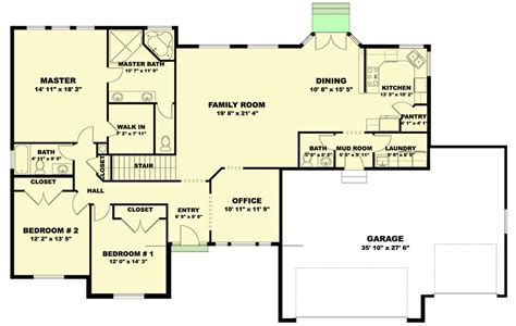 Ranch-House-Plans-With-Pantry-And-Mudroom