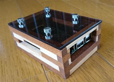 Raspberry Pi Wood Case Diys