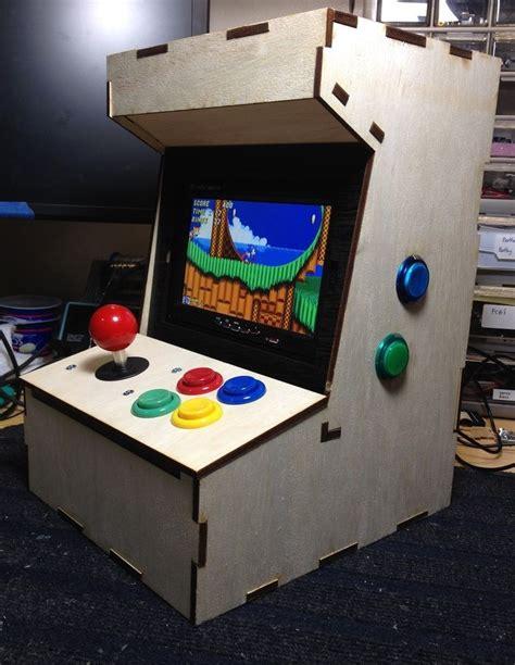 Raspberry-Pi-Game-Cabinet-Plans