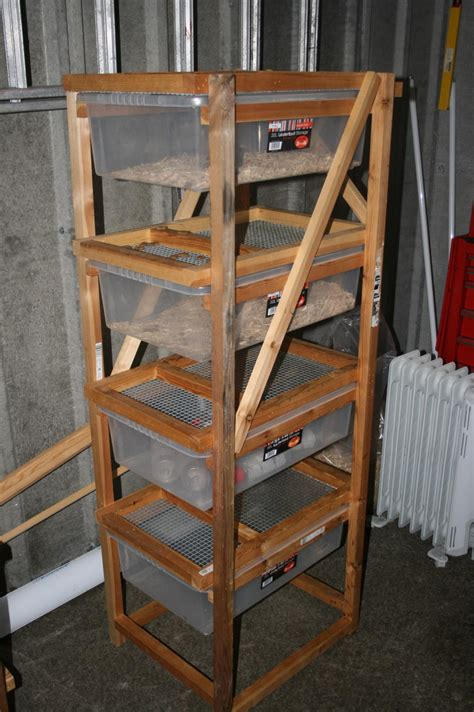 Rat Breeding Rack DIY