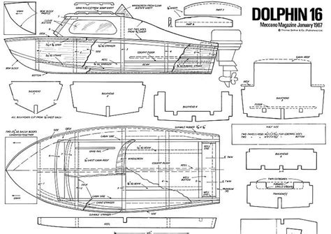 Rc Boat Design Plans