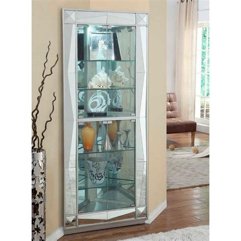Rc Willey Corner Curio Cabinets
