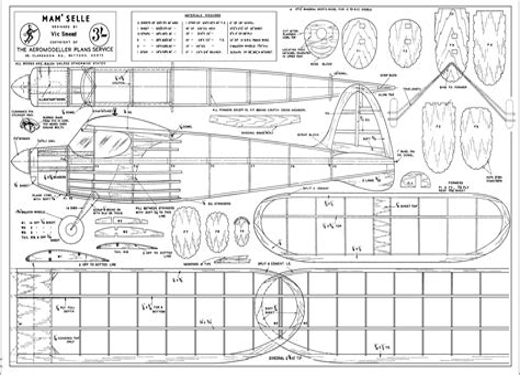 Rc-Airplane-Laser-Cut-Plans