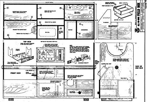 Rc-Field-Flight-Box-Plans